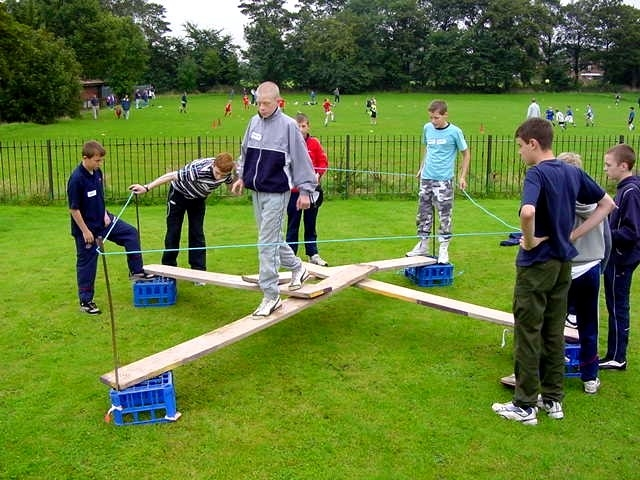 Team Building Activities For Boyscouts